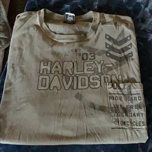 Harley Davidson short sleeve shirt